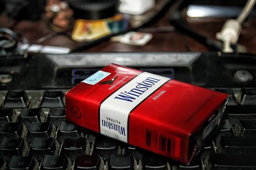 Cigarette Winston